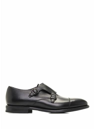%100 Deri Çift Tokalı Klasik Ayakkabı-Church's
